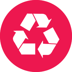 red_recycling_button